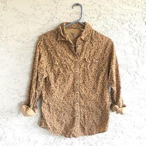 Vintage Wrangler Corduroy Button up